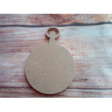 4mm MDF Fob Watch 75mm
